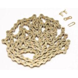 KMC Z410 lánc 1s, arany