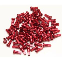 Velotech alumínium küllőanya, 16 x 2,0 mm, piros