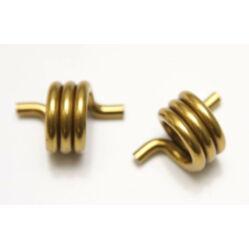 Crank Brothers pedál rugó, arany színű, 28 mm, párban
