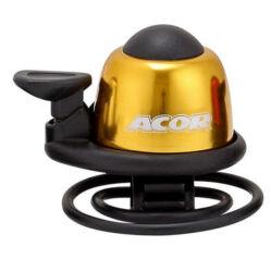 Acor ABE21101 gumipántos alu csengő, arany színű
