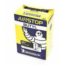 Michelin Airstop C2 26 x 1,0-1,45 (25/35-559) MTB belső gumi 36 mm hosszú szeleppel, 132 g, autós