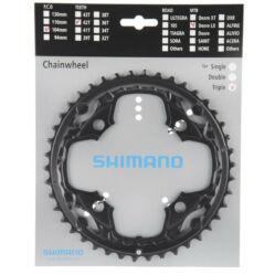 Shimano SLX FC-M660-M552 MTB első lánckerék, 42T, 104 mm, 10s, alumínium, fekete