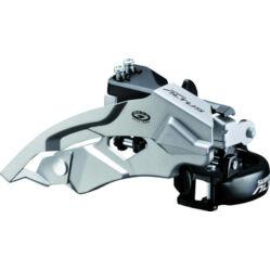 Shimano Altus FD-M370 első váltó alsó bilincses, 9s, 34,9 mm (31,8 és 28,6 adapterrel)
