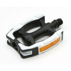 Spyral City Basic PP műanyag pedál fekete - fehér