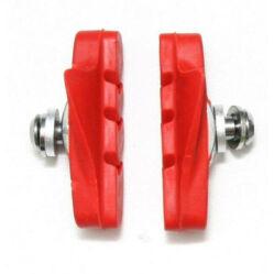 Spyral Road normál országúti fékpofa, 53 mm-es, piros