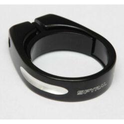 Spyral Speed csavaros nyeregcső bilincs 31,8 mm fekete