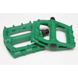 Tioga Surefoot műanyag platform pedál, zöld