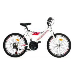 Hauser Cobra 20-as gyerek kerékpár, 18s, fehér - piros