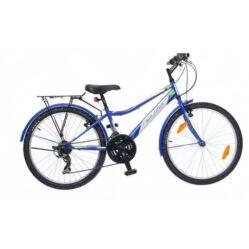Neuzer Bobby City 24-es junior kerékpár, 18s, kék-fehér