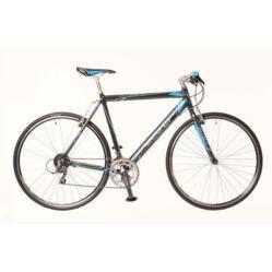 Neuzer Courier DT férfi 28-as cross kerékpár, alumínium, 16s, 50 cm, szürke-kék
