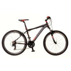 Neuzer Storm férfi 26-os MTB kerékpár, 21s, alumínium, 17-es, fekete-szürke-piros