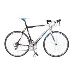 Neuzer Whirlwind 1.0 országúti kerékpár, 16s, alumínium, 46 cm, fehér-fekete-cián Belépő kategóriás, masszív országúti kerékpár, kedvező ár/érték aránnyal.