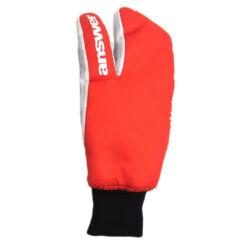 Answer Sleestack 3 ujjas téli kesztyű, piros-fehér M