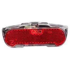 Axa Slim dinamós LED hátsó lámpa csomagtartóra, állófény funkcióval, 50 mm