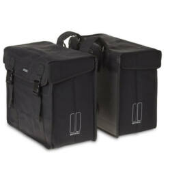 Basil Kavan két részes túratáska csomagtartóra, 65L, fekete
