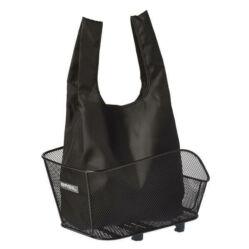 Basil Keep Shopper összehajtható szatyor, fekete