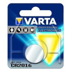 Varta CR2016 Lithium gombelem, 1 db