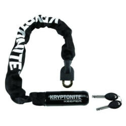 Kryptonite Keeper Mini 755 integrált láncos lakat, 7 mm x 55 cm