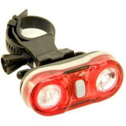 Velotech 2 x 0,5W LED-es hátsó lámpa, piros