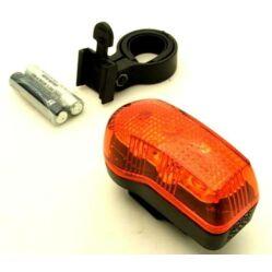 Neuzer 3 LED-es hátsó lámpa, piros