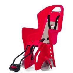 Polisport Koolah adapteres gyerekülés (vázra), 29-es kerékpárra, piros-krém