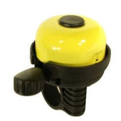 Neuzer Color műanyag-acél csengő, 40 mm, sárga
