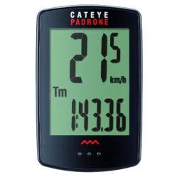 Cateye Padrone CC-PA100W vezeték  nélküli 7 funkciós kerékpár computer Fekete