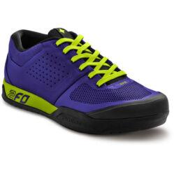 Specialized 2FO FLAT MTB kerékpáros cipő, kék-neon zöld, 36-os