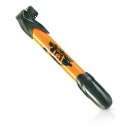 Zefal Mini Jet minipumpa, 6 bar, minden szeleptípushoz, narancs
