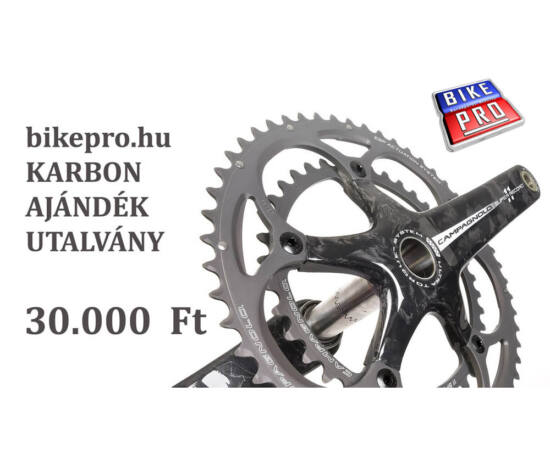 bikepro.hu KARBON ajándék utalvány