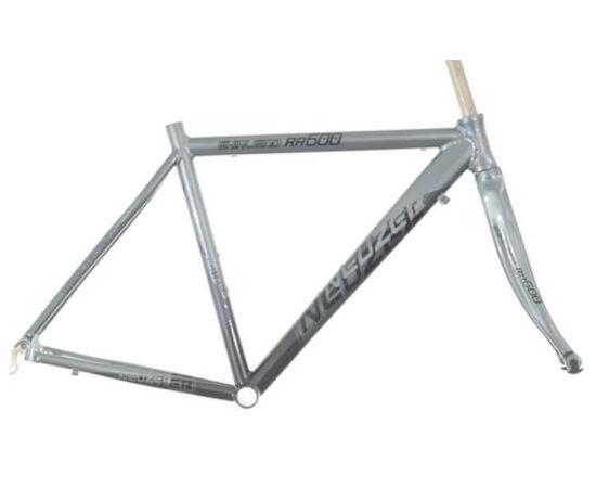 Neuzer RS RR 600 országúti kerékpár váz és villa szett, szürke, 50cm