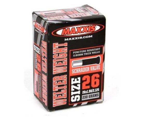 Maxxis Welter Weight (0,9 mm) 26 x 1,9/2,125 (48/57-559) MTB belső gumi 32 mm hosszú szeleppel, autós