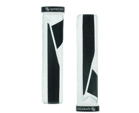 Syncros Pro bilincses markolat, 130 mm, fehér-fekete, fekete bilinccsel
