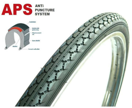 Deestone D1005 26 x 1 3/8 (37-590) külső gumi, defektvédett (APS)