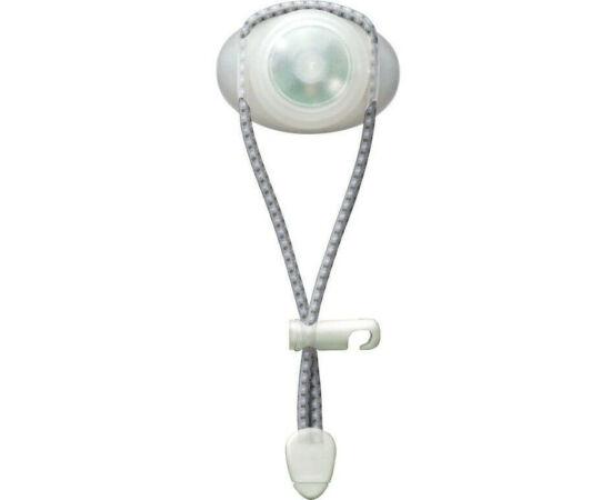 Cateye SL-LD110F Loop első lámpa fehér 1 LED 3 funkció gumipántos