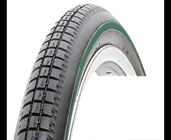 Vee Rubber VRB015 28x1 1/2 (40-635) külső gumi, zöld csíkos, 900g