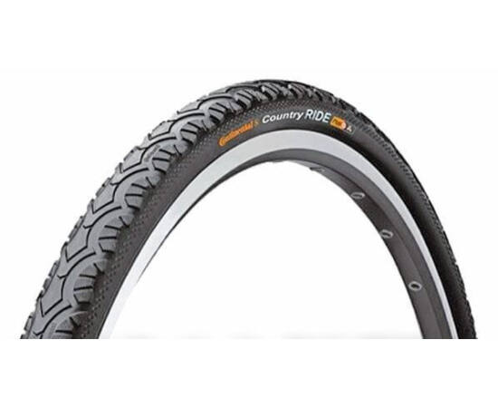 Continental Country Ride II 26x1,75 (47-559) városi külső gumi, defektvédett(Puncture Protection), reflexcsíkos, 66TPI, 750g