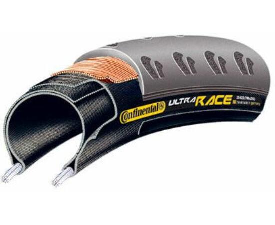 Continental Ultra Race 622-23 (700x23C) külső gumi (köpeny), defektvédett (Safety System Breaker), 270g
