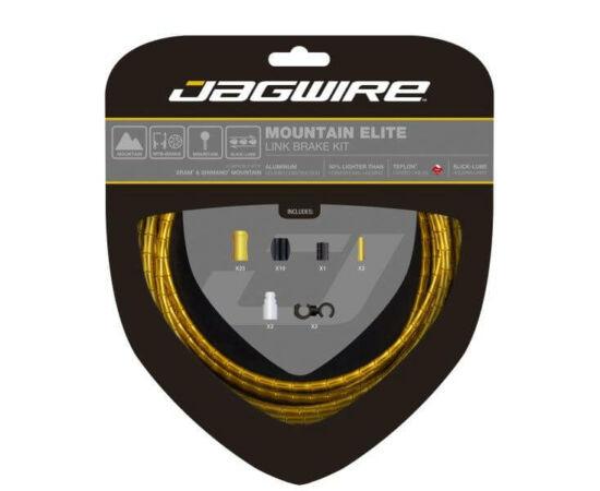Jagwire Mountain Elite MTB fékbowden készlet, arany színű