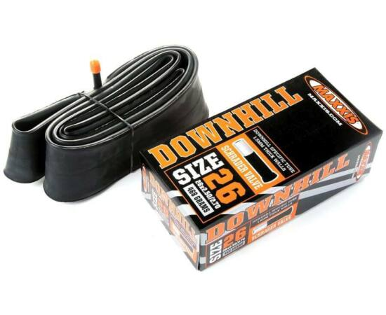 Maxxis Downhill (1,5 mm) 26 x 2,5/2,7 (64/69-559) DH belső gumi 32 mm hosszú szeleppel, autós