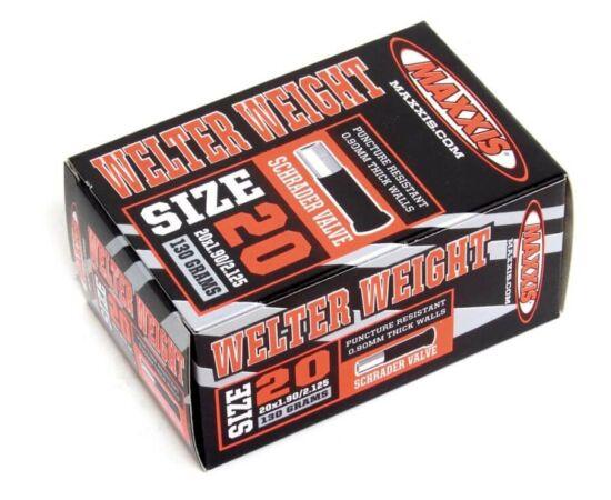 Maxxis Welter Weight (0,9 mm) 20x1 1/4 x 1 3/8 (32/37-451) belső gumi 32 mm hosszú szeleppel, autós