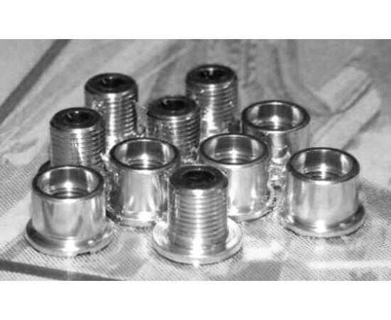 Altrix CW102 acél lánctányér csavarok,10 db, M8 X 0,75 X 8,5L országúti, ezüst színű