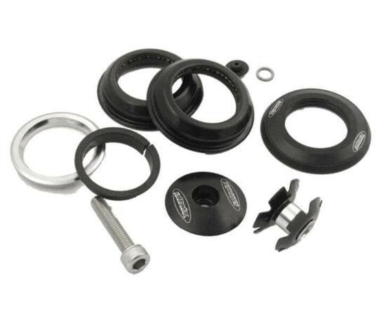 Altrix Premium 1 1/8 col A-head félintegrált kormánycsapágy, cartridge, fekete, acél csészés