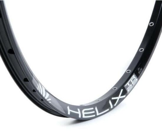 SUNringlé Helix 25 MTB felni, 26 colos (559x25 mm), 32H, tárcsafékes, illesztett, fekete