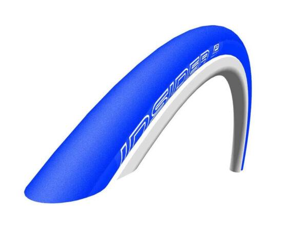 Schwalbe Insider HS385 622-23 (700x23c) külső gumi görgőzéshez, kevlárperemes, kék, 310g