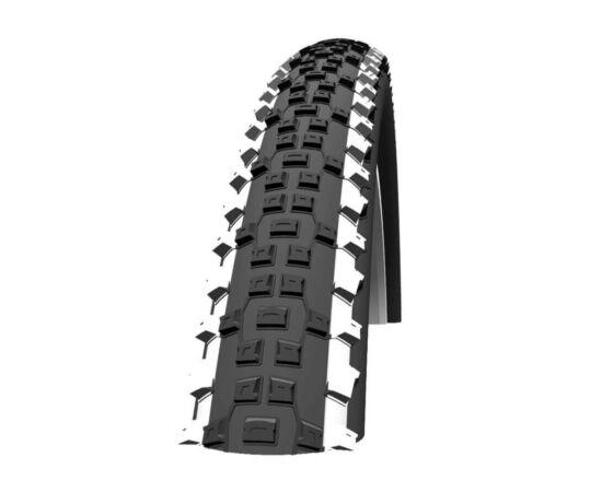 Schwalbe Rapid Rob HS391 26x2,25 (57-559) MTB külső gumi, defektvédett (K-Guard), SBC, Lite-Skin, fehér csíkos, 720g