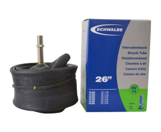 Schwalbe AV13 26 x 1,5-2,5 belső gumi 190 g, autós