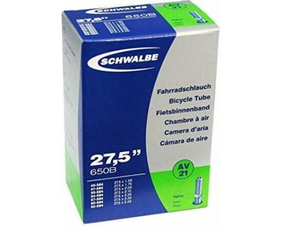 Schwalbe AV21 27,5 x 1,5-2,4 (40/62-584) MTB belső gumi, 205g, AV40 (40 mm hosszú szeleppel, autós