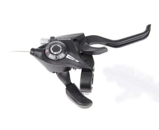 Shimano Tourney ST-EF51 fék-váltókar csak jobb - 8-as fekete