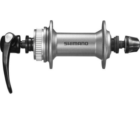 Shimano Alivio első agy tárcsafékes - Centerlock 32 lyuk ezüst